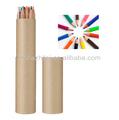 lovely fancy pencil in ruler tube boxes for cardboard pen box