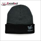 Winter Knitted Black Ski Mask Hat Knitting Pattern
