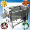 Mstp- 80 cepillo eléctrico de tipo industrial de patata de lavado de la máquina( de acero inoxidable, de alimentos- piezas de grado)... Agradable!