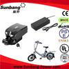 48V 10Ah lithium ebike bottle battery