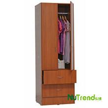 Wooden 2 Door+2 Drawer Wardrobe