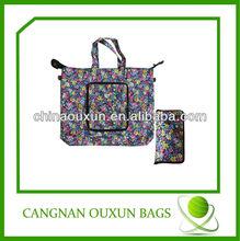 eco-friendly wholesales zipper nylon tote bag