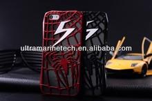 3 in1 luxury spiderman back case for iphone 5 aluminum case