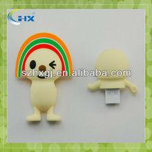 promotional silicone mini cartoon usb flash drives wholesale