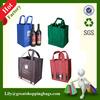 eco promotional non woven bottle bag