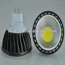 New cheap cob 5w dimmable led light mini spot mr16 12v