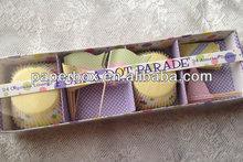 Polka Dot Cupcake box Muffin Box individual package