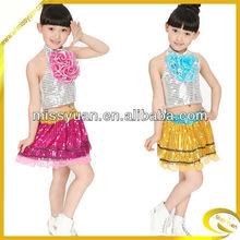 2014 yeni stil moda hip hop dans kızlar için giyim