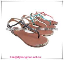 Pretty women flat sandals 2013 Factory