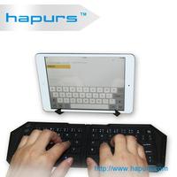 Hapurs Mini Bluetooth Keyboard for New iPad / for iPad mini / iPad / for iPhone 5 & 5S / Smart Phone / Laptop