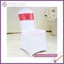wholesale Fashion satin sashes banquet chair sash manufacturer