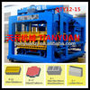 High quality QTY12-15 porous and solid brick making machine