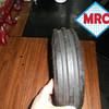 OEM soft pneumatic rubber wheel 3.00-4 straight burr