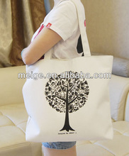 Wholesale non woven tote bag/polyester tote bag/cotton canvas tote bag long handle