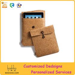 Eco-friendly product cork sleeve for ipad mini