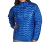 ladies high quality nylon ripstop Ultralight Down Shirt slim fit super light quilted down jacket