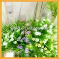 Flor artificial tulipa, casamento flor artificial arranjo, artificial flor de pau