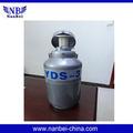Nova yds-10 biologcal recipiente nitrogênio líquido, tanque de nitrogênio líquido, nitrogênio líquido balão de dewar