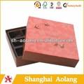 Luxo elegante de alta qualidade de papel de presente caixa, embalagem de chocolate