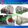 China Recycling tire machine/tire pyrolysis plant Supplier with factory price