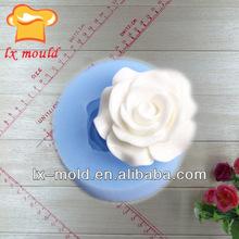 popular flower silicone chocolate bakeware