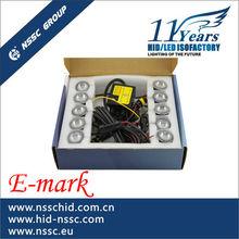 E-mark certification led daylight,daylight running led waterproof