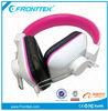 Colorful promotional cheap stylish headphones