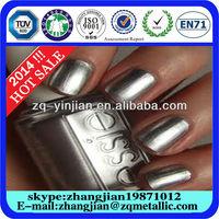 chrome effect powder coating aluminium metallic pigment for spray paint ZQ-15316