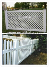 good quality pvc home garden fencing supplied by RAYEE
