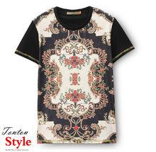 china cheap bangkok custom all over print design t shirt for men