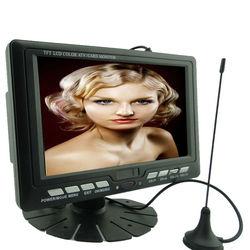 7 inch portable radio tv stations