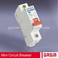 Mejor 2014 gsb6-63 caliente, gsb8-63, gsb7-63 serie mcb, 4p pequeño circuito interruptor de corriente continua