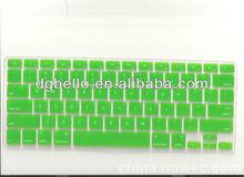 Protectora cubierta del teclado de silicona para Apple Macbook air