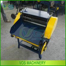 High efficiency scrap wire stripping machine/wire stripper/scrap wire peeling machine with 9 feeding holes