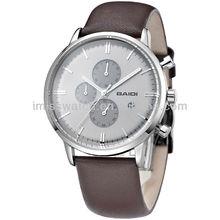 Whole sale genuine leather best sapphire surface original quartz multi-fuction dials watches BD72050