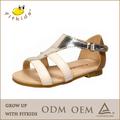 de alta calidad flip flop sandalia plana romana sandalia sandalia para las niñas