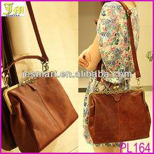 Vintage Design PU Leather Lady Shoulder Handbag Satchel Tote Bag Purse 2014 Hot Sale