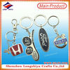 LED metal key chain/lighting keychain /LED round key holder