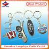 LED metal key chain/lighting keychain /LED round key holder