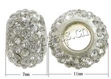 4mm perle di pietra bianca