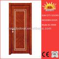 interior de madera de caoba puertas de entrada con precio competitivo