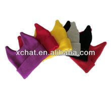 handmade teenagers knitted bobble hat winter knitted black ski mask hat knitting pattern