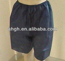 Spa salon disposable non woven men pants with ISO , CE , FDA certifications
