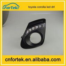 Super bright&wholesale price 11-12 model drl led used for toyota corolla led daytime running light