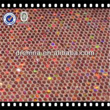 Hot Sales Genuine Glitter Sofa PU Leather For Keychain