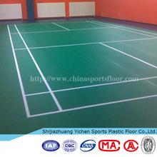 pvc flooring / pvc sports flooring / used futsal / badminton/volleyball / tennis / indoor basketball / kindergarten