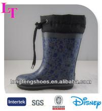 dark cheap fashion rain boots