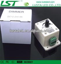 LED Dimmer Controller Brightness Adjustable, Inline LED Dimmer