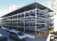 multi-level mechanical car park system car storage car parking lift system manufacturer