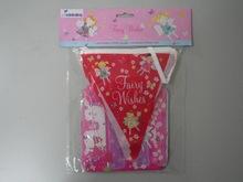 Party plastic pennant/DIY felt pennant/ string flags/ star banner for wedding birthday party decoration